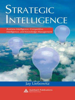 cover image of Strategic Intelligence