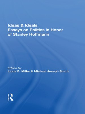 cover image of Ideas and Ideals