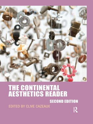 cover image of The Continental Aesthetics Reader