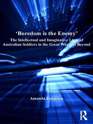 cover image of 'Boredom is the Enemy'