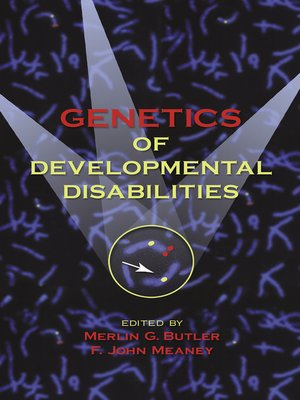 cover image of Genetics of Developmental Disabilities