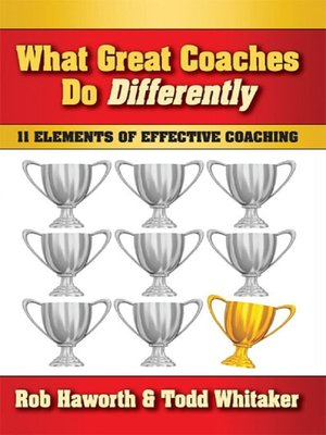 cover image of What Great Coaches Do Differently