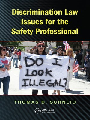 cover image of Discrimination Law Issues for the Safety Professional