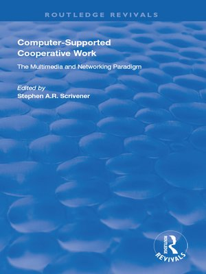 cover image of Computer-supported Cooperative Work