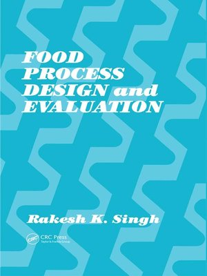 cover image of Food Process Design and Evaluation