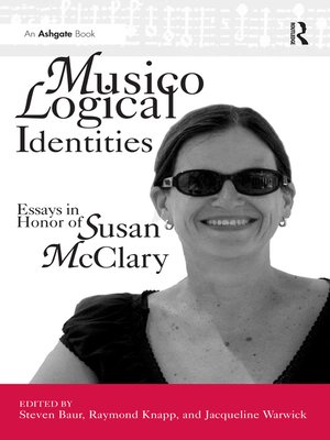 cover image of Musicological Identities