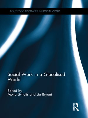 cover image of Social Work in a Glocalised World