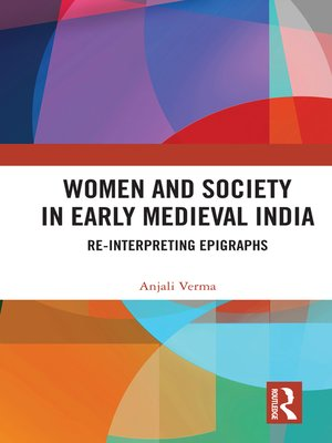 cover image of Women and Society in Early Medieval India