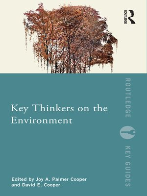 cover image of Key Thinkers on the Environment