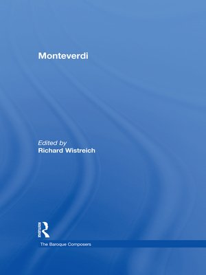 cover image of Monteverdi
