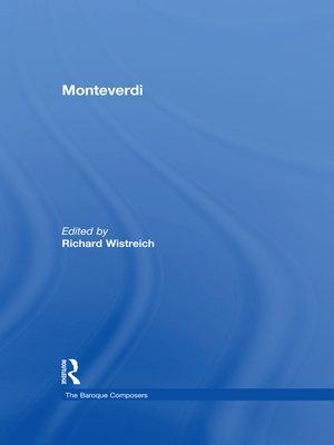 cover image of Monteverdi