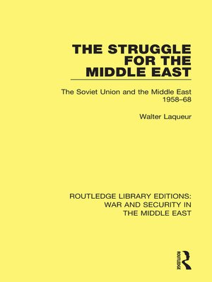 cover image of The Struggle for the Middle East