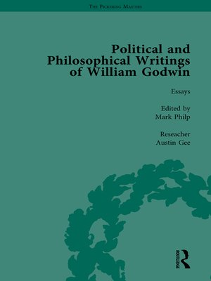 cover image of The Political and Philosophical Writings of William Godwin vol 6