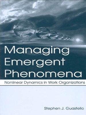 cover image of Managing Emergent Phenomena