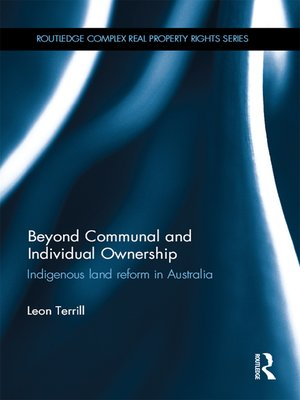cover image of Beyond Communal and Individual Ownership