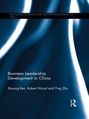 cover image of Business Leadership Development in China
