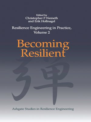 cover image of Resilience Engineering in Practice, Volume 2