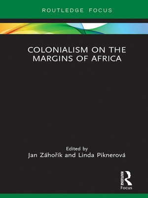 cover image of Colonialism on the Margins of Africa
