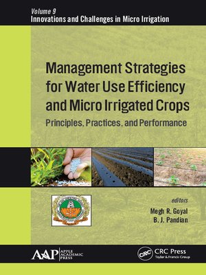 cover image of Management Strategies for Water Use Efficiency and Micro Irrigated Crops
