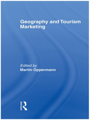 cover image of Geography and Tourism Marketing