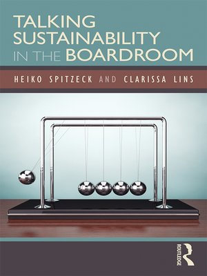 cover image of Talking Sustainability in the Boardroom