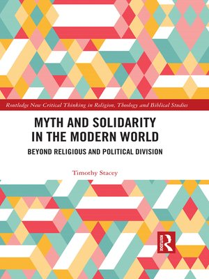 cover image of Myth and Solidarity in the Modern World