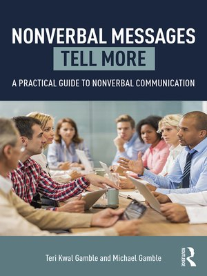 cover image of Nonverbal Messages Tell More