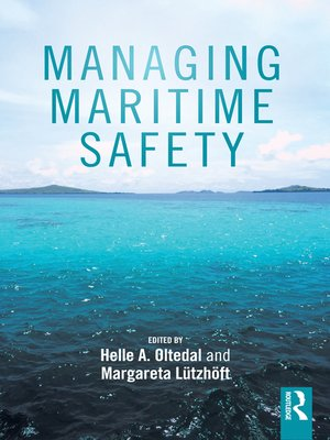 cover image of Managing Maritime Safety