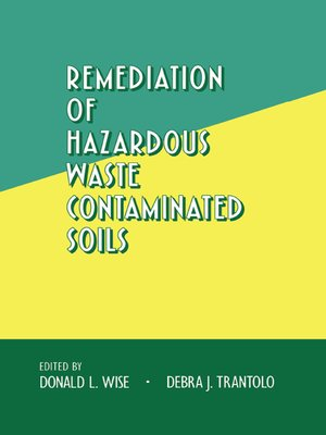 cover image of Remediation of Hazardous Waste Contaminated Soils
