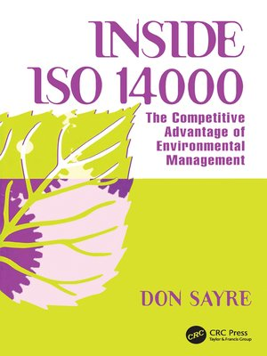 cover image of INSDE ISO 14000