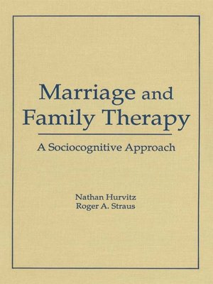 cover image of Marriage and Family Therapy