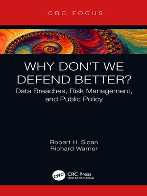 cover image of Why Don't We Defend Better?