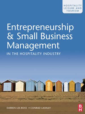 cover image of Entrepreneurship and Small Business Management in the Hospitality Industry