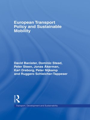 cover image of European Transport Policy and Sustainable Mobility