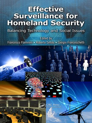 cover image of Effective Surveillance for Homeland Security