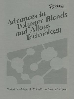 cover image of Advances in Polymer Blends and Alloys Technology, Volume II