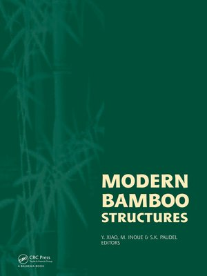 cover image of Modern Bamboo Structures