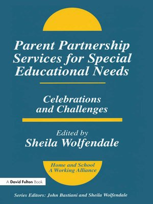 cover image of Parent Partnership Services for Special Educational Needs