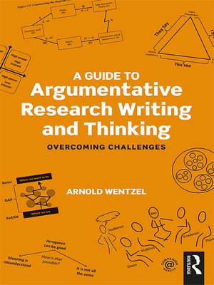 cover image of A Guide to Argumentative Research Writing and Thinking