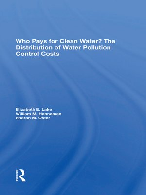 cover image of Who Pays For Clean Water?