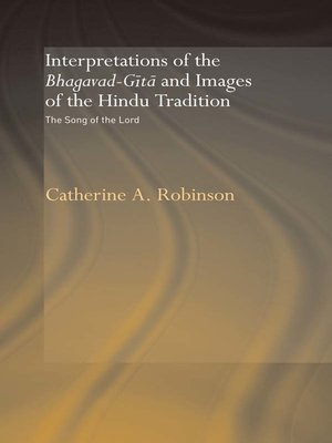 cover image of Interpretations of the Bhagavad-Gita and Images of the Hindu Tradition