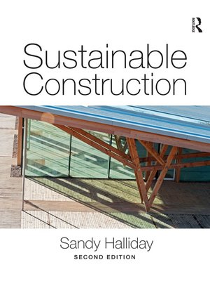 cover image of Sustainable Construction