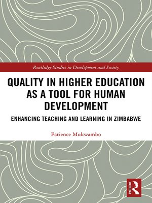 cover image of Quality in Higher Education as a Tool for Human Development