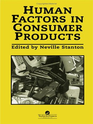 cover image of Human Factors In Consumer Products