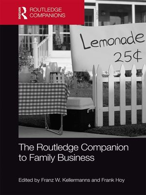 cover image of The Routledge Companion to Family Business