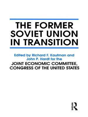 cover image of The Former Soviet Union in Transition