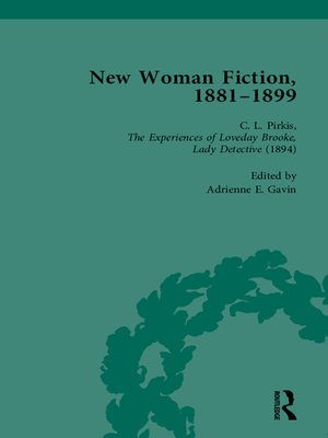 cover image of New Woman Fiction, 1881-1899, Part II vol 4