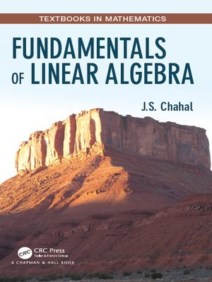 cover image of Fundamentals of Linear Algebra