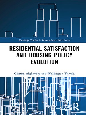 cover image of Residential Satisfaction and Housing Policy Evolution
