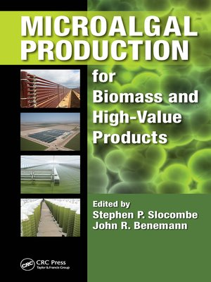 cover image of Microalgal Production for Biomass and High-Value Products